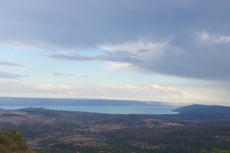 the stunning view from Tsiur Nof